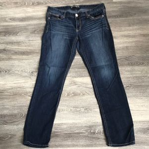 Express skinny low rise jeans  size 12